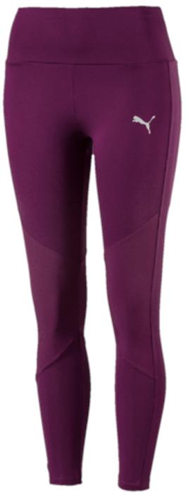 Леггинсы женские Puma Transition 7 8 Legging, цвет: темно-фиолетовый. 59232729. Размер S (42/44)59232729Модель декорирована набивным светоотражающим логотипом Puma и изготовлена с использованием высокофункциональной технологии DryCell, которая отводит влагу, поддерживает тело сухим и гарантирует комфорт во время активных тренировок и занятий спортом. Завышенный пояс подчеркивает все достоинства женской фигуры и обеспечивает комфорт во время тренировки. Вставки из ткани на коленях облегчают сгибание и разгибание ноги в колене и создают полную свободу движений. Фасон в обтяжку по фигуре.
