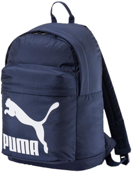 Рюкзак Puma Originals Backpack, цвет: темно-синий, 20 л. 07479902