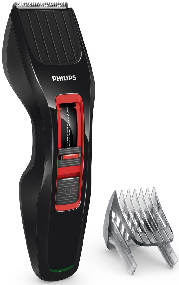 Philips HC3420/15 беспроводная машинка для стрижки волос с 13 установками длиныHC3420/15Машинка для стрижки Philips HC3420/15 создана для отличных результатов и долгой службы. Инновационный режущий блок, лезвия из нержавеющей стали и регулируемый гребень — все, что нужно для быстрой и ровной стрижки снова и снова. Простое решение для стрижки волос любого типа: усовершенствованная технология DualCut — это режущий блок с двойной заточкой и низким коэффициентом трения. Инновационный режущий блок обеспечивает в два раза более быструю стрижку по сравнению с обычными машинками.Самозатачивающиеся лезвия из нержавеющей стали долго остаются острыми. Выберите и зафиксируйте одну из 12 фиксируемых установок длины регулируемого гребня: от 1 мм до 23 мм с шагом 2 мм. Либо используйте прибор без гребня для минимальной длины 0,5 мм. Для максимальной мощности и свободы движения питание прибора может осуществляться как от сети, так и от аккумулятора. 60 минут автономной работы после 8 часов зарядки. Прибор не требует особого ухода — вам не придется тратить время на смазывание лезвий. Чтобы освободить и очистить лезвия под струей воды просто снимите головку.