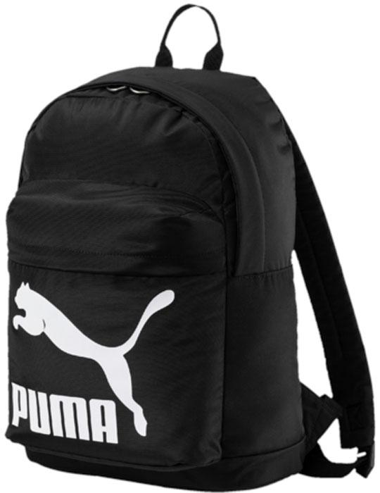 Рюкзак Puma Originals Backpack, цвет: черный, 20 л. 07479901