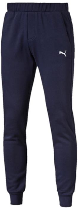 Брюки спортивные мужские Puma ESS Sweat Pants Slim, Fl, цвет: темно-синий. 83826606. Размер XXL (52/54) puma puma essentials gym slim pants