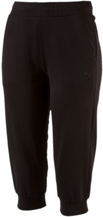 Капри женские Puma ESS Capri Sweat Pants W, цвет: черный. 83842401. Размер M (44/46) automatic voltage regulator generator avr r438