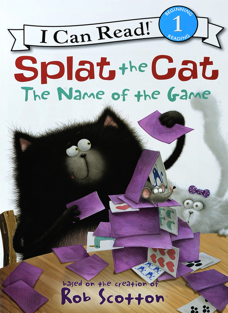 Splat the Cat: The Name of the Game: Level 1 name of the game