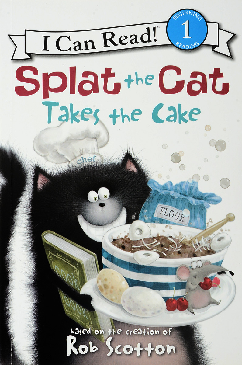 Splat the Cat Takes the Cake: Level 1 редьярд киплинг the cat that walked by himself