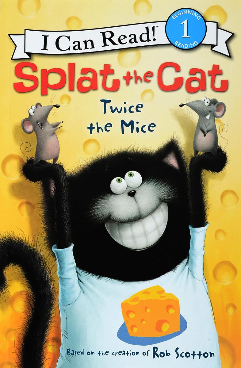 Splat the Cat: Twice the Mice: Level 1, Зарубежная литература для детей  - купить со скидкой