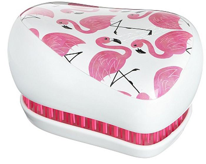 Tangle Teezer Расческа для волос Compact Styler Skinny Dip White/Pink