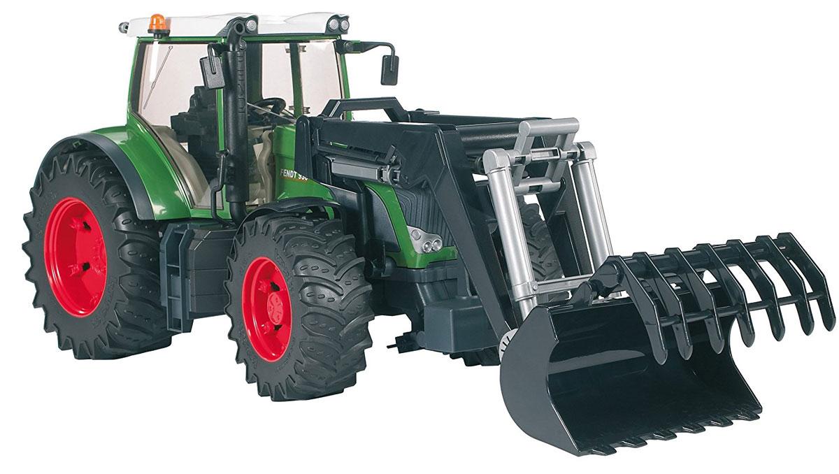 Bruder Трактор Fendt 936 Vario с погрузчиком bruder трактор погрузчик roadmax