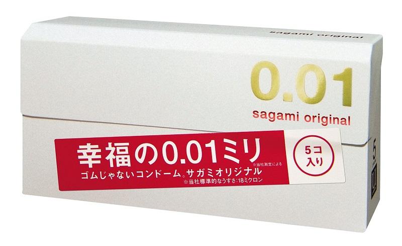 Sagami презервативы Original 001, 5 шт - Товары для гигиены