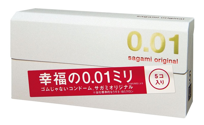 Sagami презервативы Original 001, 5 шт гель смазка sagami original 3 г