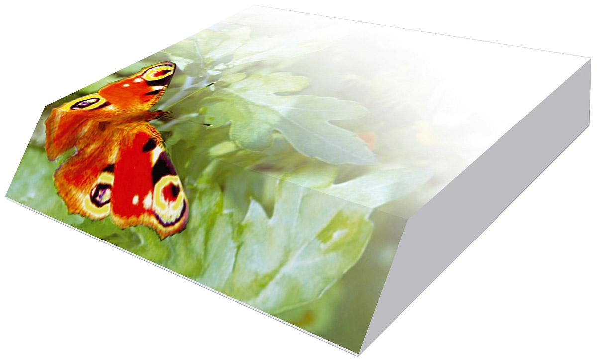 Фолиант Блок для записей Бабочка 9 х 11 см 300 листовБКД-300С/8Блок бумаги Фолиант Бабочка идеально подходит для быстрой фиксации информации. Блок бумаги выполнен с декоративным срезом, с проявлением отпечатанного изображения на торце.Блок бумаги изготовлен на картонной подложке, листы проклеены по торцу. Благодаря специальной проклейки, листы блока не рассыпаются. Порядок на столе гарантирован. Печать на листах добавит вам хорошего настроения. Особенности - наличие декоративного среза; листы склеены в блок.