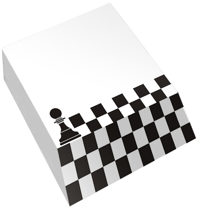 Фолиант Блок для записей Шахматы 9 х 11 см 300 листовОНШ-6/1Блок бумаги Фолиант Шахматы идеально подходит для быстрой фиксации информации. Он выполнен с декоративным срезом, с проявлением отпечатанного изображения на торце.Блок бумаги изготовлен на картонной подложке, листы проклеены по торцу. Благодаря специальной проклейке листы блока не рассыпаются. Порядок на столе гарантирован. Печать на листах добавит вам хорошего настроения. Особенности - наличие декоративного среза; листы склеены в блок.