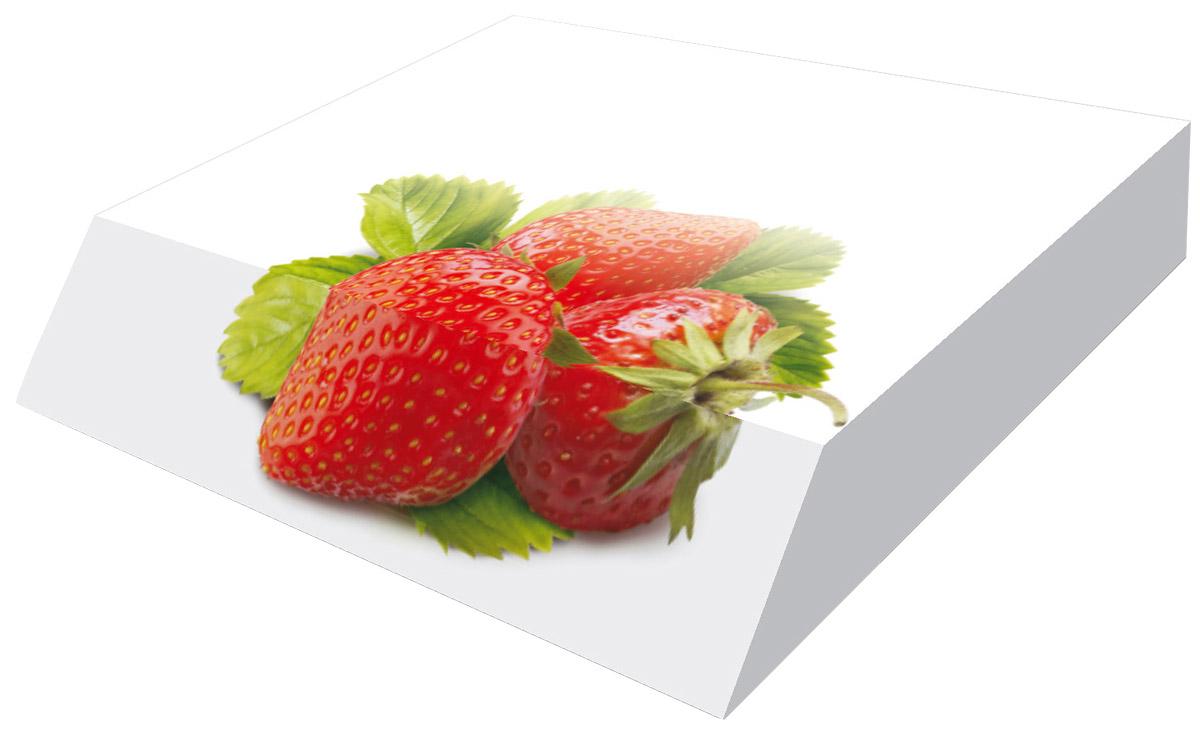 Фолиант Блок для записей Клубника 9 х 11 см 300 листовБКД-300А2Блок бумаги Фолиант Клубника идеально подходит для быстрой фиксации информации. Блок бумаги выполнен с декоративным срезом, с проявлением отпечатанного изображения на торце.Блок бумаги изготовлен на картонной подложке, листы проклеены по торцу. Благодаря специальной проклейки, листы блока не рассыпаются. Порядок на столе гарантирован. Печать на листах добавит вам хорошего настроения. Особенности - наличие декоративного среза; листы склеены в блок.