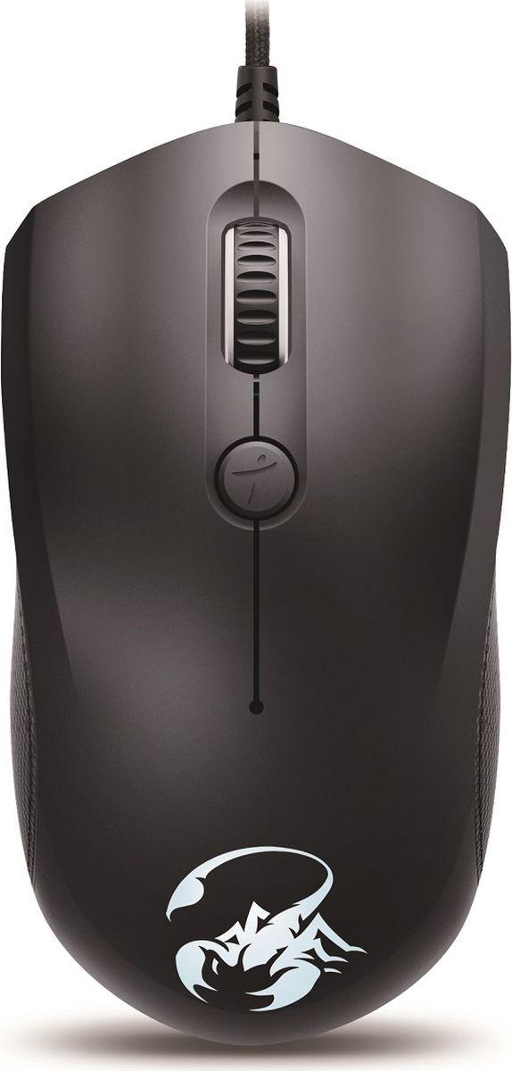 Genius Scorpion M6-400, Black мышь игровая
