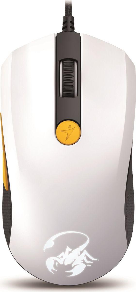 Genius Scorpion M8-610, White Orange мышь игровая - Клавиатуры и мыши