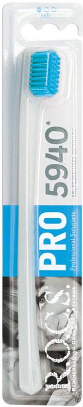 R.O.C.S Зубная щетка PRO 5940, мягкаяORL-80232424_фиолетоваяЗубная щетка R.O.C.S. PRO 5940 разработана для взрослых. Уникальная зубная щетка R.O.C.S. PRO 5940 обладает следующими преимуществами: количество щетинок увеличено в 2 раза, что в сочетании с использованием ультратонкой щетины особойформы Trilabal существенно повышает эффективность чистки зубов и способствует деликатному массажу десен;уникальная технология тройной полировки кончиков щетины обеспечивает безопасность чистки и исключаетвозможность повреждения твердых тканей зубов и десен; специально разработанная тонкая изогнутая ручка создает удобство во время чистки зубов и предотвращаетизлишнее давление на десны; гигиеничная и легко моется. Товар сертифицирован. Уважаемые клиенты! Обращаем ваше внимание на цветовой ассортимент щетины. Поставка осуществляется в зависимости от наличияна складе.