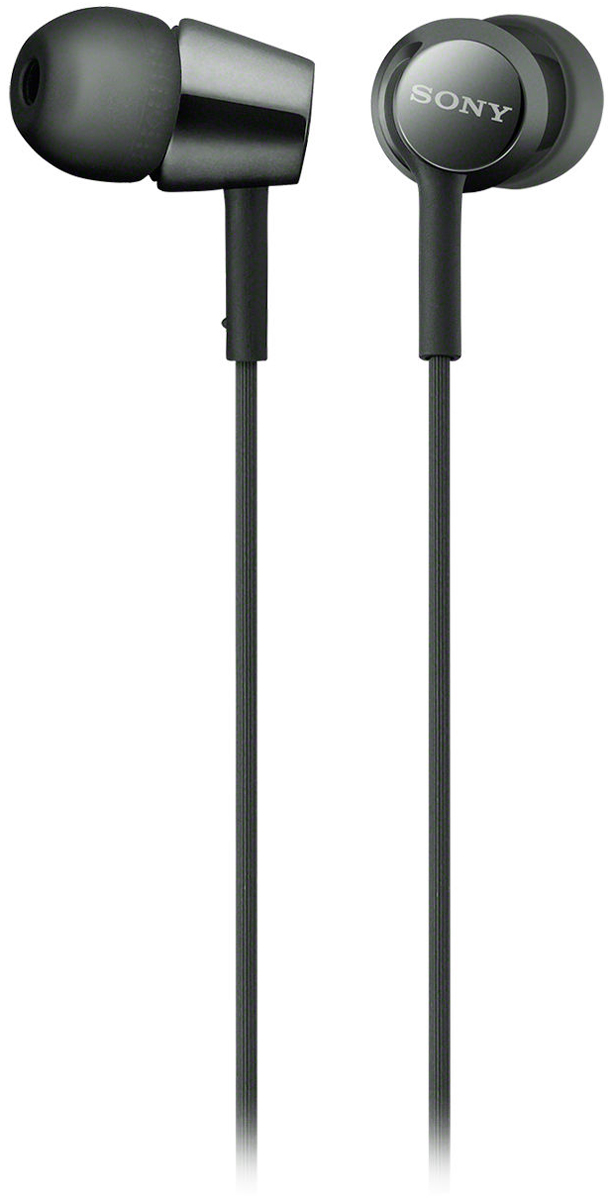 Sony EX155, Black наушникиMDREX155B.EНаушники-вкладыши Sony EX155 обеспечивают отличный динамический звук даже на ходу.Высокочувствительные 9-миллиметровые динамики в компактном корпусе обеспечивают четкое звучание верхних частот и мощные басы.Устойчивый к спутыванию и перекручиванию рифленый кабель обеспечивает комфорт при использовании наушников.Вкладыши четырех размеров (SS, S, M и L) позволяют адаптировать наушники под свои потребности для максимально комфортного прослушивания на ходу.