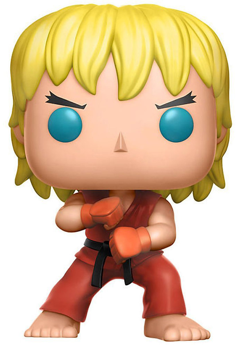 Funko POP! Vinyl Фигурка Games: Street Fighter: Ken Special Attack (Exc) фигурка funko pop games street fighter blanka hyper fighting