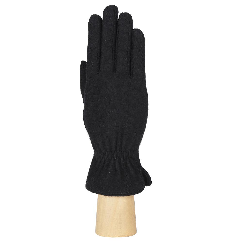 Перчатки женские Fabretti, цвет: черный. HB2017-12. Размер универсальный