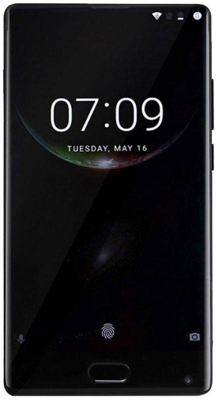 Doogee MIX 6GB+64GB, BlackMIX_Black 6GB+64GBDoogee MIX - самый компактный смартфон с безрамочным дисплеем в мире.Дисплей охватывает не только боковые панели корпуса, но еще и верхнюю панель. Такая конструкция не имеет аналогов в своем классе. Безрамочный дисплей не показывает изображение в рамке, он дарит подлинное ощущение присутствия. Именно таким должен быть ультрасовременный смартфон - открывать весь мир на вашей ладони.Экран Samsung Super AMOLED дарит живые и естественные цвета, а корпус с ионно-вакуумным напылением толщиной несколько микрон -глубокий и насыщенный блеск.Сердце смартфона - новейший 8-ядерный центральный процессор Helio P25 - превосходно совмещает высокую скорость с низким энергопотреблением. Технология FinFET с техпроцессом 16 нм экономит до 25 % потребляемой энергии. Тактовая частота процессора - невероятные 2,5 ГГц - обеспечит незабываемые дозы адреналина во время видеоигр. ОЗУ до 6 Гбайт (LPDDR4x) и внутренняя память 128 Гбайт - хватит места для всех фотографий, музыки и приложений.Сочетание процессора Helio P25 и дисплея Samsung Super AMOLED позволило добиться выдающихся характеристик энергосбережения и, как следствие, большого времени работы на одном заряде аккумулятора. Безрамочный дисплей может гореть хоть целый день, после чего быстрое зарядное устройство на 5 В / 2 А вернет 80 % заряда аккумулятора всего за 30 минут.Смартфоны Doogee MIX оснащаются сдвоенной основной видеокамерой: 16,0 Мпикс. (цвета RGB) +8,0 Мпикс. (монохромная). Матрица Samsung ISOCELL с превосходной светочувствительностью подарит столь же четкое и резкое изображение, как будто у вас в руках зеркальный фотоаппарат!Смартфон работает под ОС Android 7.0 самой последней версии со всеми функциями. Больше возможностей персонализации, больше средств безопасности.Смартфон сертифицирован EAC и имеет русифицированный интерфейс меню и Руководство пользователя.