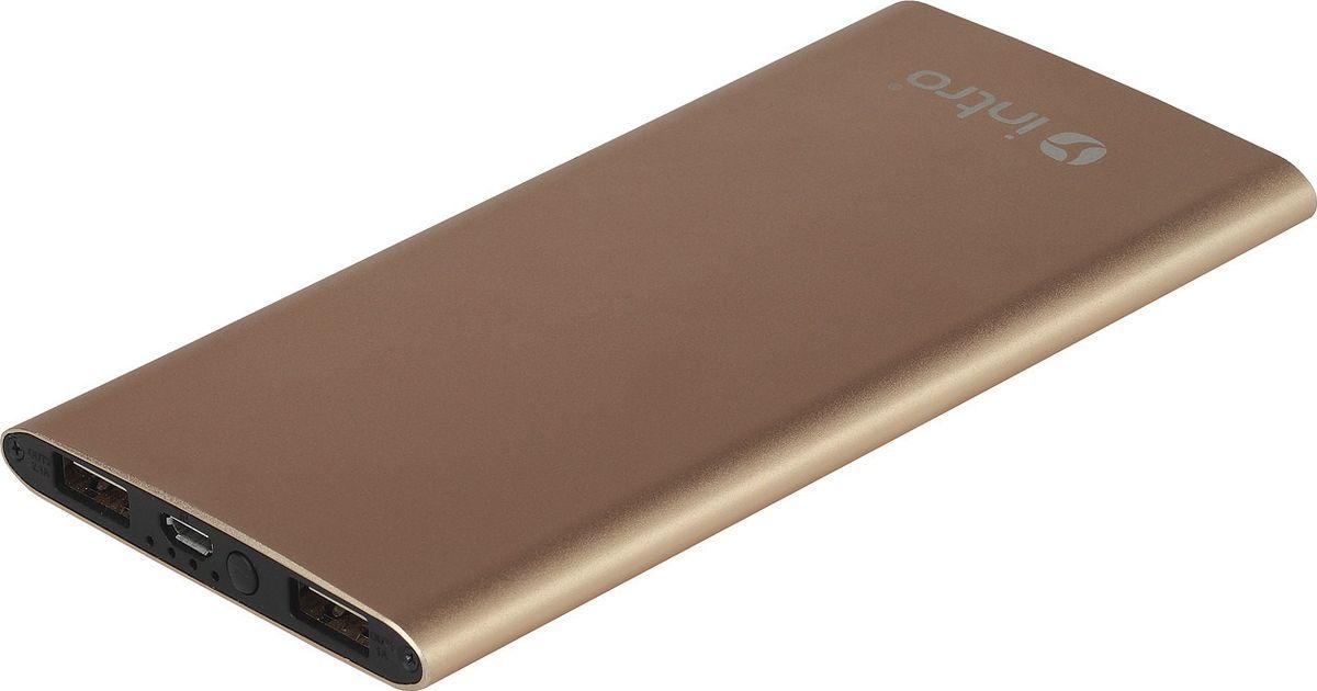 Intro Power Bank PB06, Gold внешний аккумулятор
