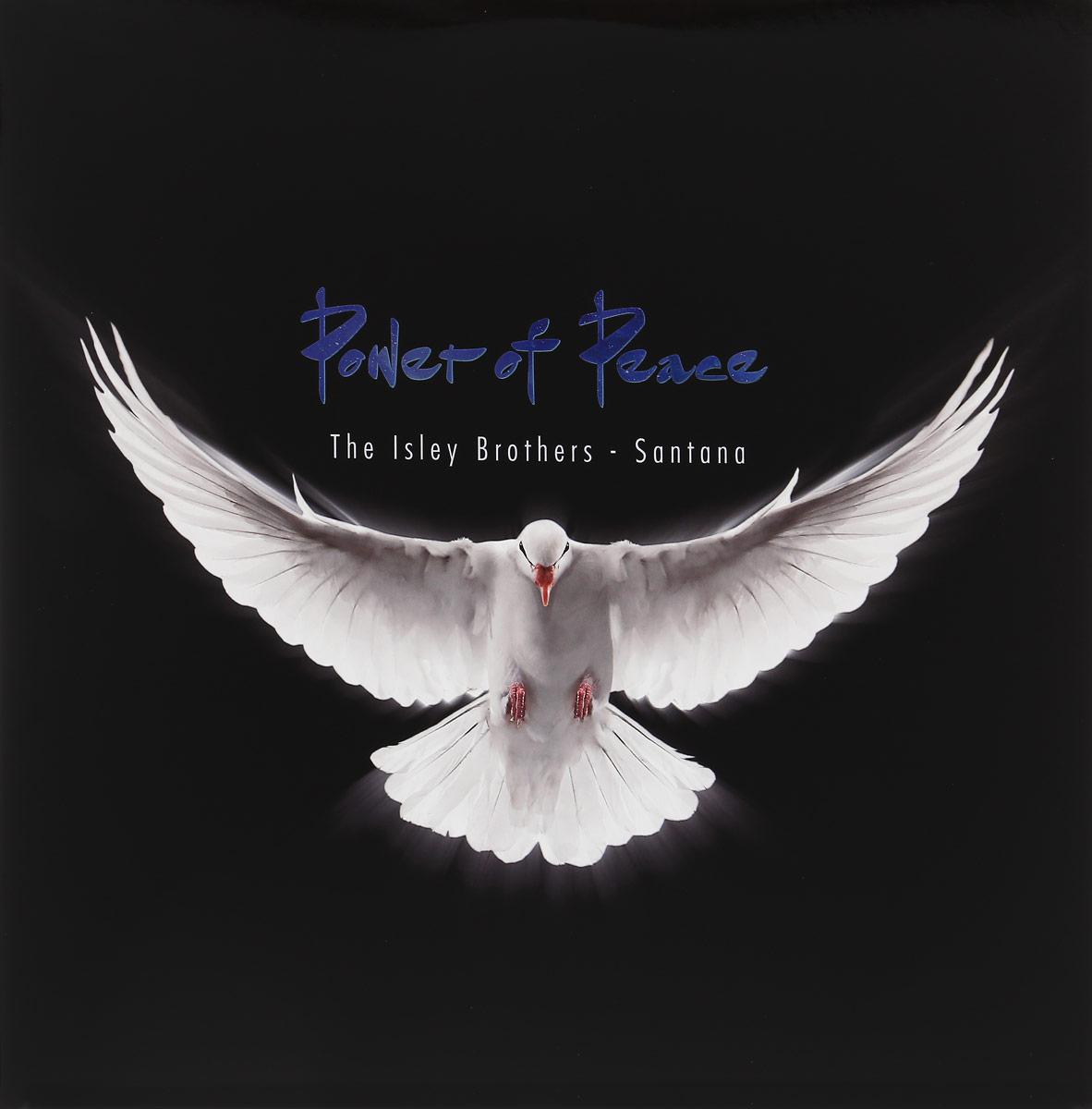 Карлос Сантана,The Isley Brothers Carlos Santana, The Isley Brothers. Power Of Peace (2 LP) isley brothers isley brothers this old heart of mine