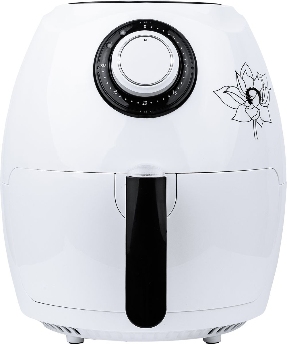 Gfgril GFA-2600 Air Fryer Compact, White аэрогриль - Аэрогрили