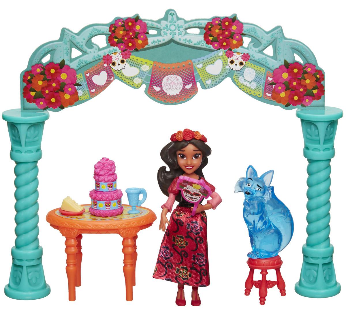 Disney Elena Of Avalor Игровой набор с мини-куклой Праздничная коллекция