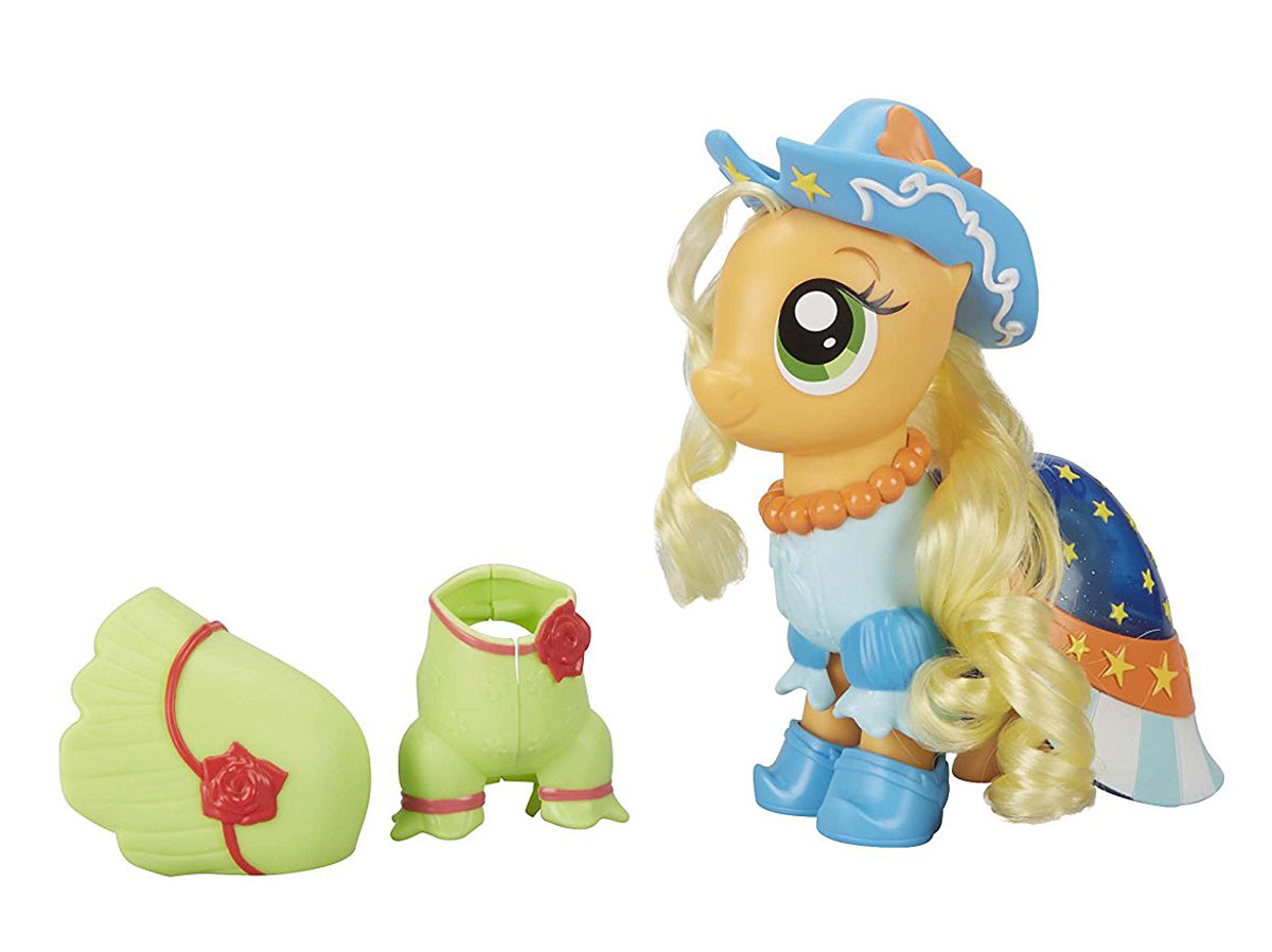 My Little Pony Игровой набор Сияние пони-модницы Applejack my little pony игровой набор dress shop rarity
