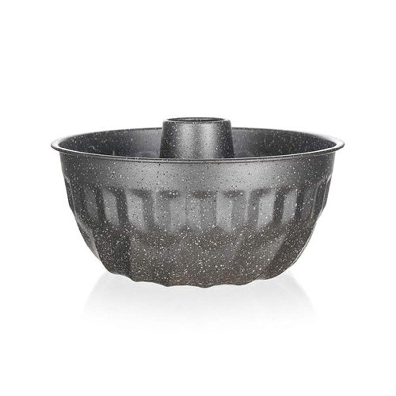 Форма для кекса Banquet Granite, диаметр 22 см19078060Функциональная круглая форма кекса, удобный размер, красивый внешний вид! Стильная эммитация цвета гранитной крошки. Металлическая форма для кекса, имеет круглую форму 22 см, антипригарное покрытие