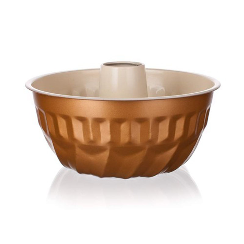 Форма для кекса Banquet Gourmet Ceramia, с керамическим покрытием, круглая, диаметр 22 см19YLC05GCФорма для выпечки удобного размера. Круглая форма с керамическим антипригарным покрытием, благодаря чему пища не пригорает и не прилипает к стенкам посуды. Кроме того, готовить можно с добавлением минимального количества масла и жиров.