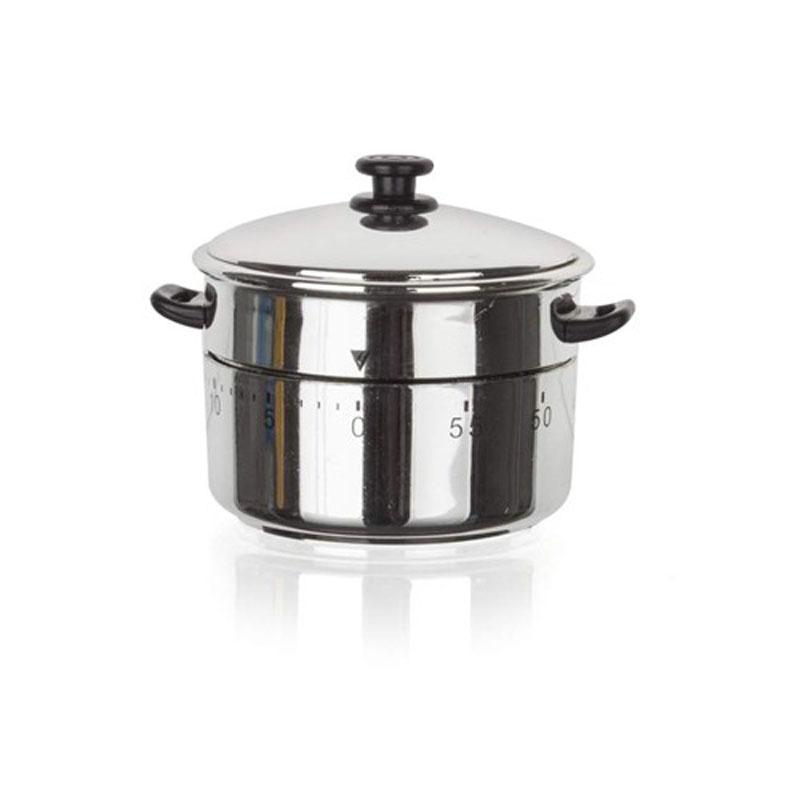 Таймер кухонный Banquet Кастрюля28MT601Незаменимый помощник при приготовлении пищи - Ваше на кухне под Вашим контролем! Механика, ручной завод. Размер: 7,2*8,7*6,6см. Металл