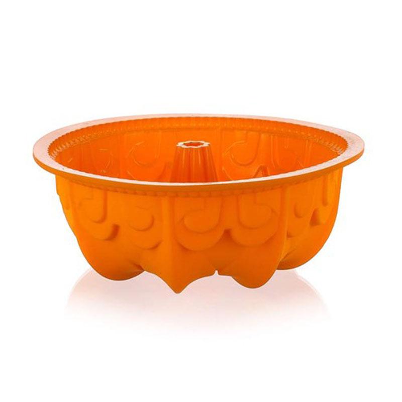 Форма для выпечки кекса Banquet, силиконовая, цвет: оранжевый, 25 х 9 см3120020OФорма для выпечки кекса - оптимальный размер, яркий цвет. Силикон - жаростойкий материал, размер диаметр 25 см, высота 9 см