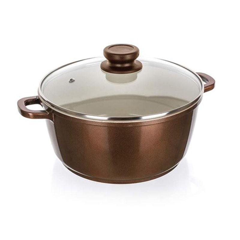Кастрюля Banquet  Titus  с крышкой, с антипригарным покрытием, 4,5 л - Посуда для приготовления