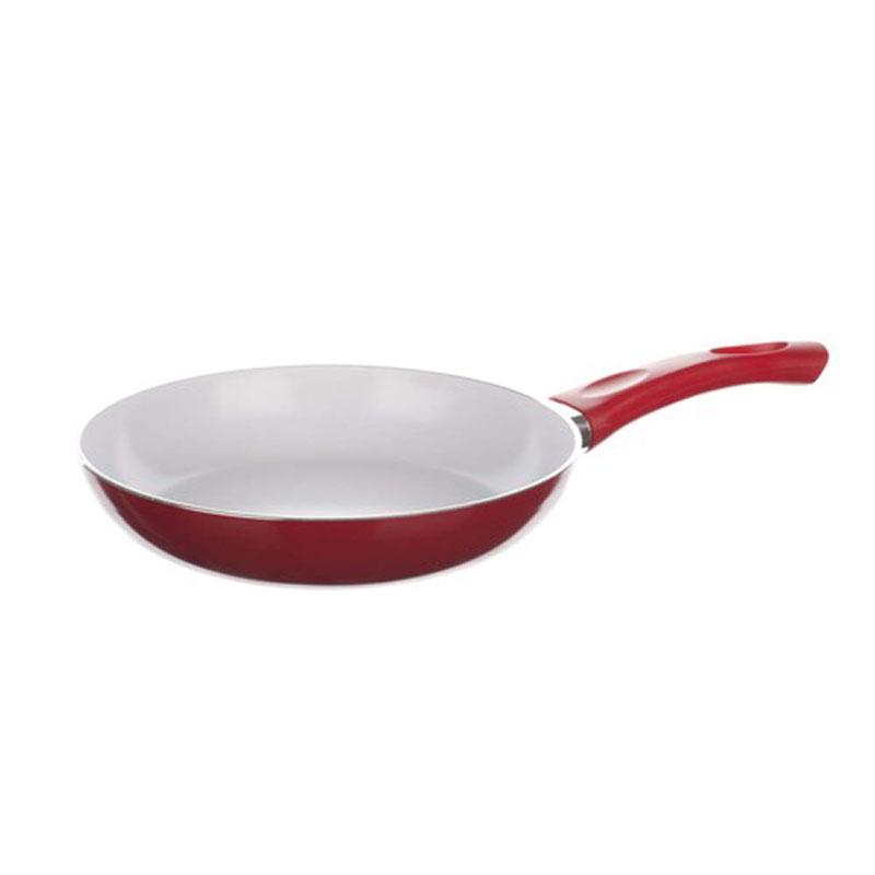 Сковорода Banquet Ceramia, с керамическим покрытием, цвет: красный. Диаметр 20 см40HTXJPCE0120RE-AКерамическая поверхность сковороды изготовлена из природных материалов, поверхность более усточива к царапинам и высоким температурам. Отличная теплопроводность и высокое сопротивление означает большую практичность во время жарки и тушения. Размер 20*4 см. Алюминиевый корпус с керамической поверхностью, не содержит тяжелые металлы. Высокая теплопрводность и высокое сопротивление.
