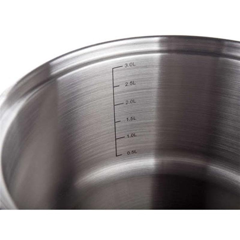 Ковш Banquet Akcent с крышкой, 1,9 л48RW1231R16-AКовш со стеклянной крышкой Корпус из нержавеющей стали .Объем 1,9 л