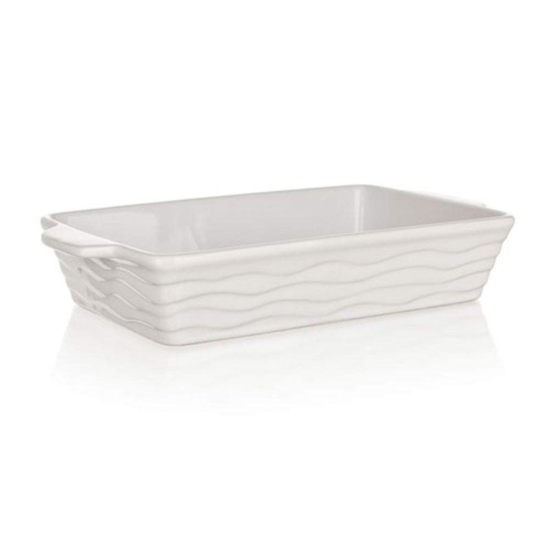 Форма для запекания  Banquet , прямоугольная, цвет: белый, 30 х 17 см - Посуда для приготовления
