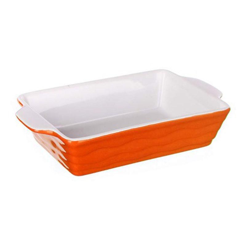 Форма для запекания  Banquet , прямоугольная, цвет: оранжевый, 24 х 14,5 см - Посуда для приготовления