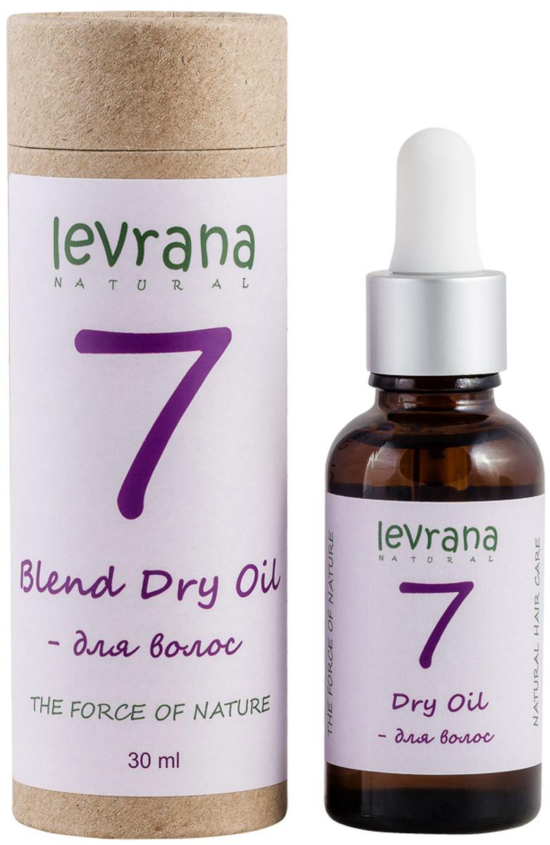 Levrana Сухое масло 7 для волос, 30 мл масло расторопши пятнистой куплю продам