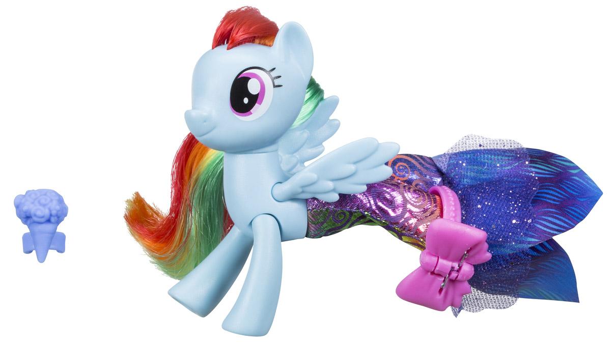 My Little Pony Фигурка Land & Sea Fashion Styles Rainbow Dash my little pony фигурка mr carrot cake