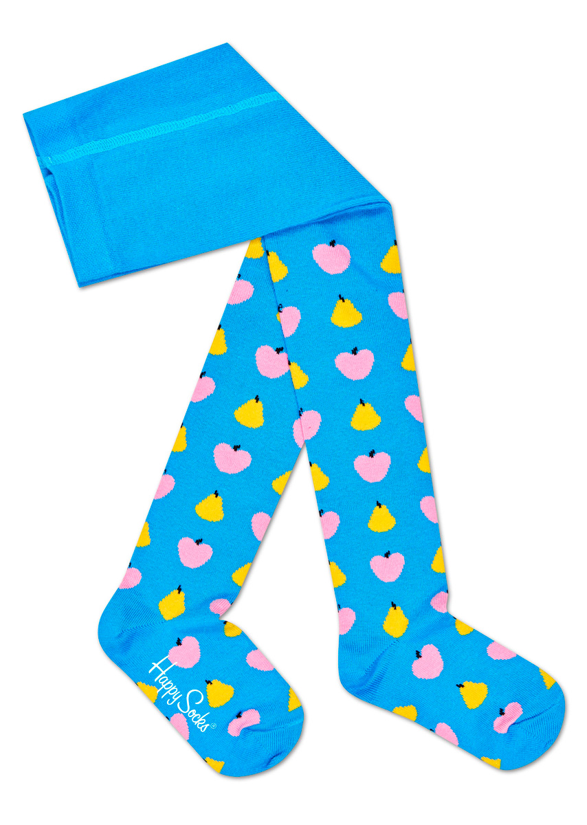 Колготки детские Happy socks, цвет: голубой, мультиколор. KFRU60. Размер 14, 1,5-2 годаKFRU60Детские колготки Happy Socks, изготовленные из высококачественного материала, дополнены принтом. Теплые и прочные, эти колготки равномерно облегают ножки, не сдавливая и не доставляя дискомфорта. Эластичные швы и мягкая резинка на поясе не позволят колготам сползать и при этом не будут стеснять движений. Входящие в состав ткани полиамид и эластан предотвращают растяжение и деформацию после стирки.