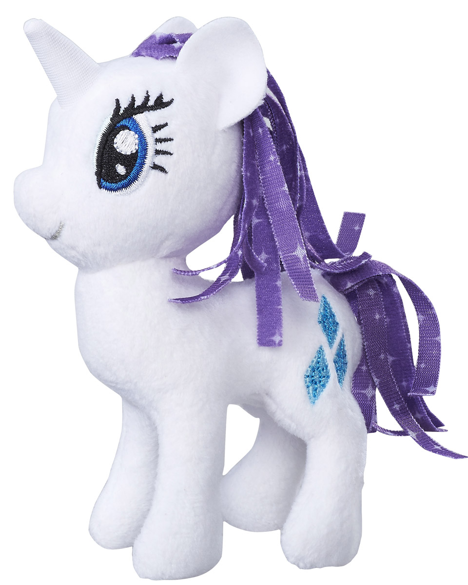 My Little Pony Мягкая игрушка Пони Rarity 13 см мульти пульти мягкая игрушка принцесса луна 18 см со звуком my little pony мульти пульти