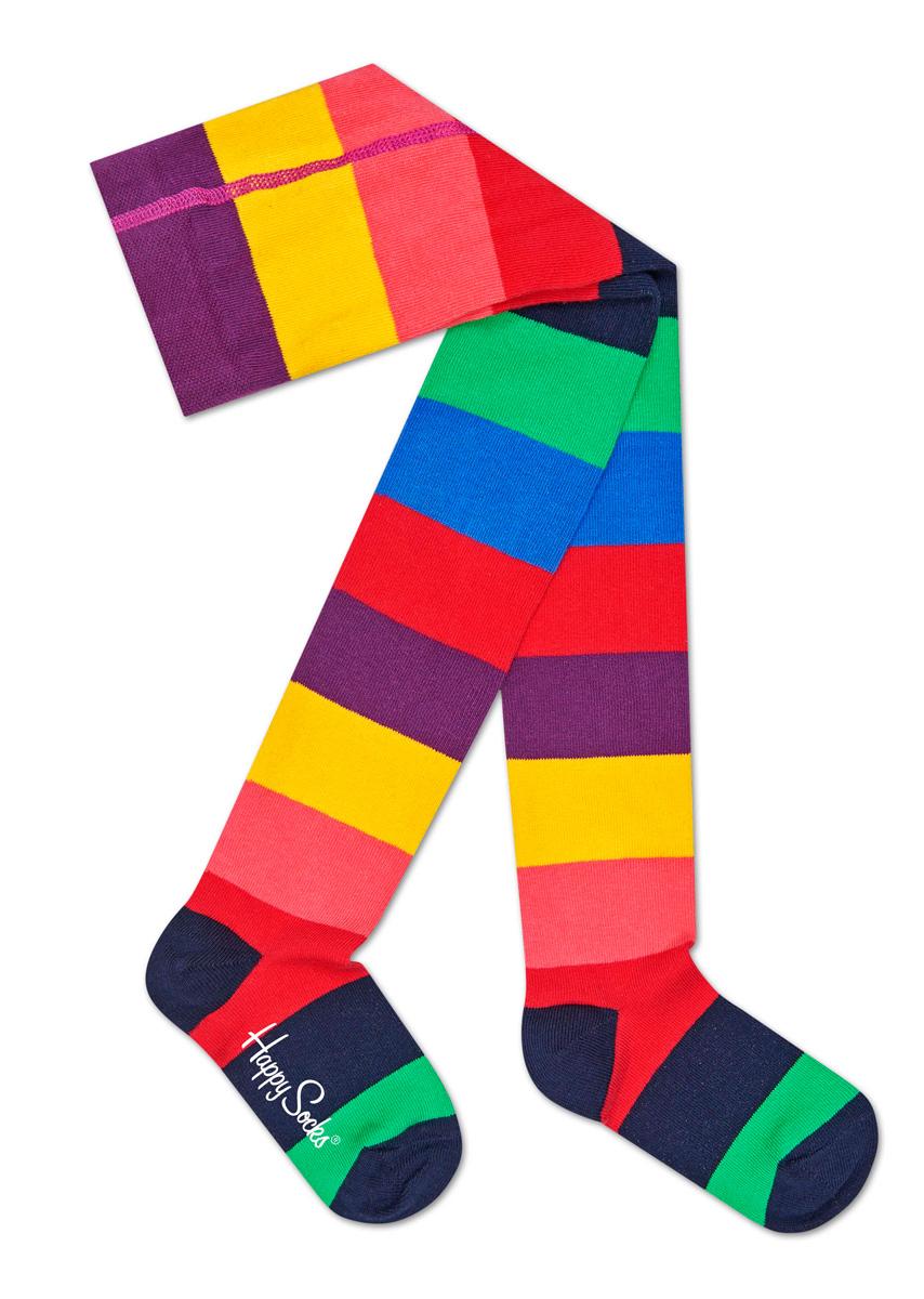 Колготки детские Happy socks, цвет: мультиколор. KSTR60. Размер 12, 0,5-1 годKSTR60Детские колготки Happy Socks, изготовленные из высококачественного материала, дополнены принтом в полоску. Теплые и прочные, эти колготки равномерно облегают ножки, не сдавливая и не доставляя дискомфорта. Эластичные швы и мягкая резинка на поясе не позволят колготам сползать и при этом не будут стеснять движений. Входящие в состав ткани полиамид и эластан предотвращают растяжение и деформацию после стирки.