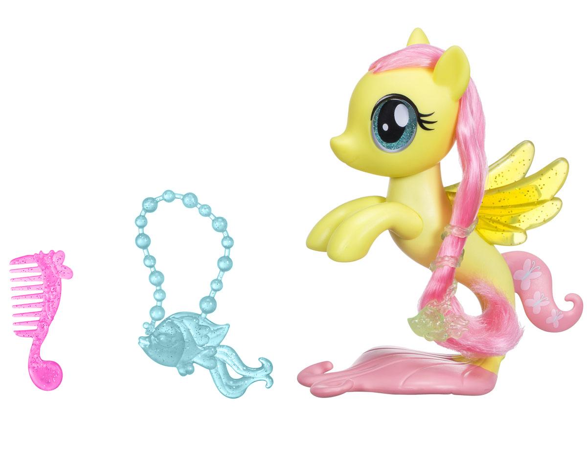 My Little Pony Игровой набор Glitter & Style Seapony Fluttershy my little pony игровой набор dress shop rarity