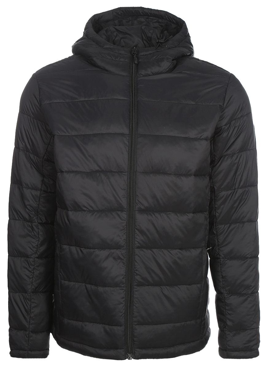 Куртка мужская Asics Padded Jacket, цвет: черный. 150401-0904. Размер XXL (56) шорты мужские asics gpx knit short 9in цвет черный 141095 0904 размер xxl 54 56