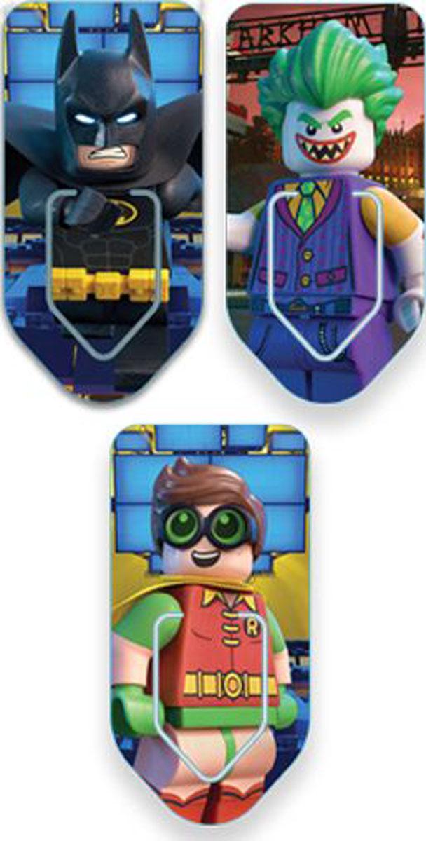LEGO Набор закладок для книг Batman Movie 3 шт51762Набор закладок для книг с лентикулярным изображением в формате 3D LEGO Batman Movie.Используя их в качестве книжных закладок, вы сможете попутно наслаждаться фрагментами чудесных иллюстраций. Прекрасный, практичный и оригинальный подарок всем любителям искусства!