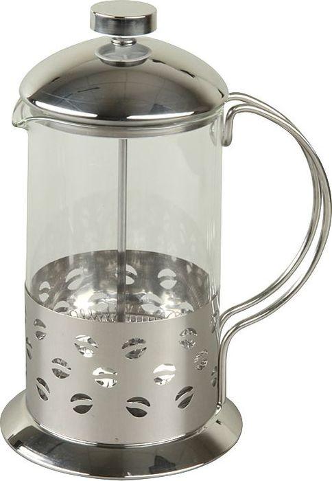 Френч-пресс Rosenberg 800мл. RSG-660002-L77.858@24497Френч-пресс Rosenberg изготовлен из высококачественной нержавеющей стали и термостойкого стекла. Удобная ненагревающаяся ручка. Фильтр-поршень из нержавеющей стали выполнен по технологии press-up для обеспечения равномерной циркуляции воды. Засыпая чайную заварку или кофе под фильтр, заливая горячей водой, вы получаете ароматный напиток с оптимальной крепостью и насыщенностью. Объем 800мл. Металл с зеркальной полировкой