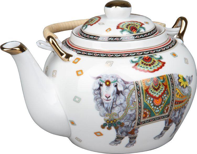 Чайник заварочный Rosenberg. 806177.858@23659чайник заварочный, 1л, керамика