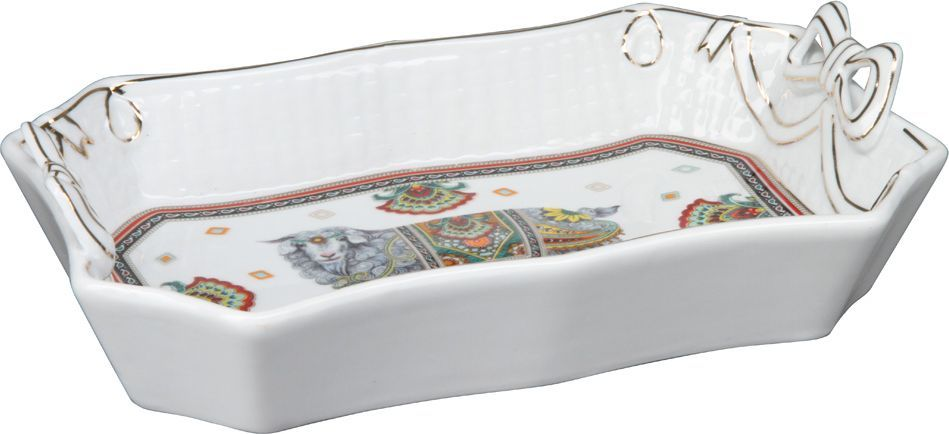 Блюдо Rosenberg. 822577.858@23689блюдо, керамика, размеры 26 х 17.5 х 5 см