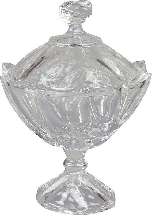 Сахарница Rosenberg. 143777.858@23193сахарница Материал: стекло под хрусталь Размеры 18 х 18 х 24 см