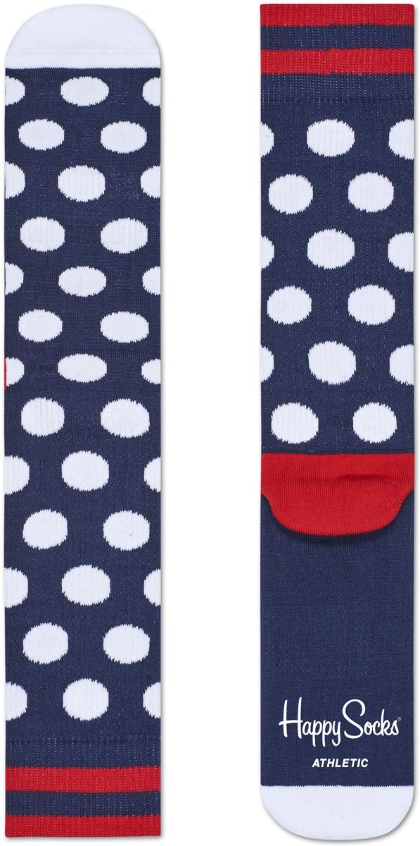 носки happy socks ary01 2002 Носки женские Happy socks, цвет: темно-синий, белый. ATBDO27. Размер 25